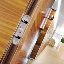 The Perko Powermatic door closers are unobtrusive