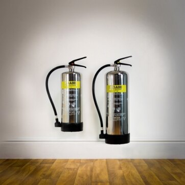 Image of the Stainless Steel Foam Fire Extinguishers